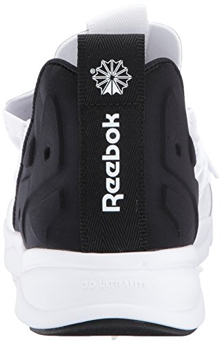 Reebok Uomo Furylite X Fashion Sneaker Bianco / Nero