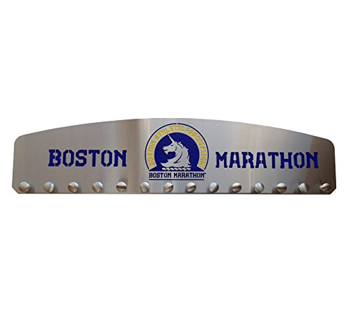 The Official Boston Marathon Medal Display by Blue Diamond Athletic Displays
