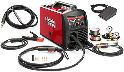 Cheap Lincoln K3461-1Tp Le31Mp Multiprocess Wirefeeder Welder with Tiggun and pedal lincoln le31mp welder