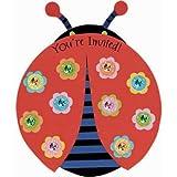 Ladybug Party Invitations, 8ct
