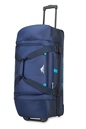 High Sierra Evolution Wheeled Drop Bottom Duffel Bag, 30