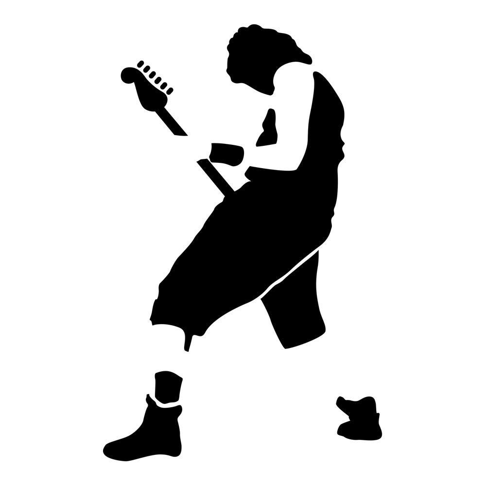 Azutura Gitarrist Gitarrist Gitarrist Wandtattoo Rockmusik Wand Sticker Kinder Schlafzimmer Haus Dekor verfügbar in 5 Größen und 25 Farben X-Groß Schwarz B00E7S6VWC Wandtattoos & Wandbilder b373a5