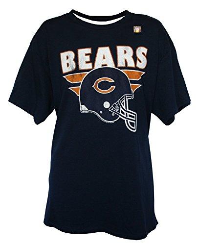 (NFL Men's Helmet Logo T-Shirt by G-III, Chicago Bears, Large)