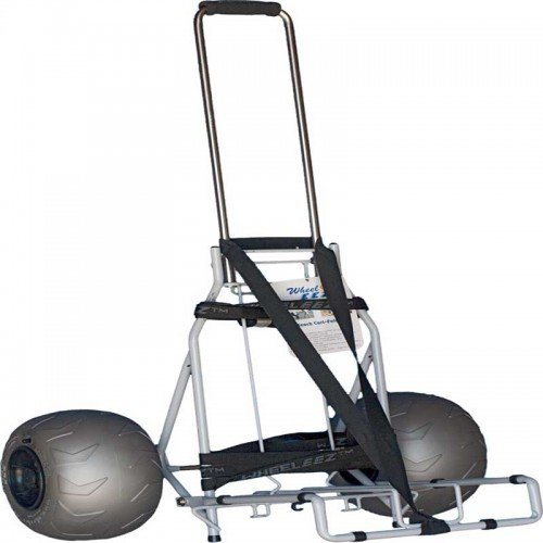 Folding Beach Cart By Wheeleez For Big Amp Heavy People