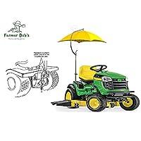 "Lawn Mower Complete w/Mounting Bracket 41.5"" Umbrella Canopy Coverage Farmer Bob"