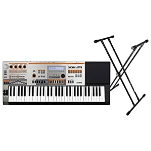 Casio XW-P1 61-key Synthesizer Bundle w/ Double X Keyboard Stand