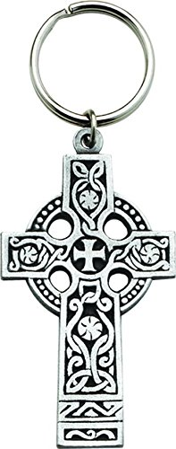 Cathedral Art KR21PB 3-1/4-Inch Celtic Cross Key Ring