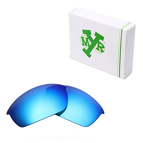 Mryok Polarized Replacement Lenses for Oakley Flak Jacket - Ice - Flak Lenses Golf Oakley Jackets