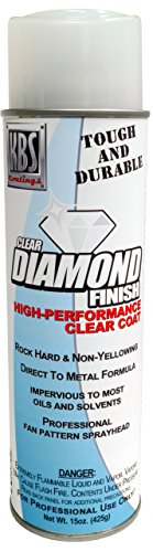 KBS Coatings 8124 1 Pack Diamond Finish Clear Aerosol Satin