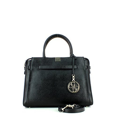 GUESS CHRISTY LRG GIRLFRIEND SATCHEL HWVG6625070 schwarz, schwarz