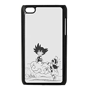 Qxhu Anime Dragon Ball Z patterns Protective Snap On Hard Plastic Case for Ipod Touch4