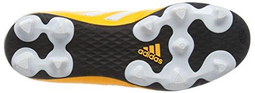 adidas Goletto V FG, Botas de Fútbol Unisex Niños Amarillo (Solar Gold/Ftwr White/Core Black)