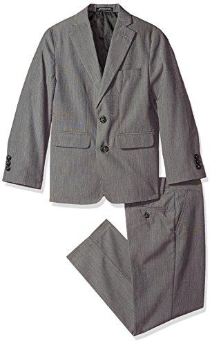 Van Heusen Boys' Big' 2-Piece Formal Dresswear Suit, Dark Shadow, ()