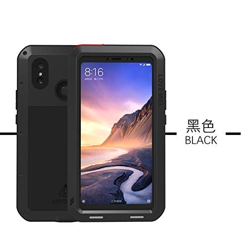 pick up 45be8 a27b5 Love MEI XIAOMI Mi Max 3 Case,XIAOMI Max 3 Metal Case,Waterproof Shockproof  Dust Dirt Proof Aluminum Metal Case Heavy Duty Protection Case Cover for ...