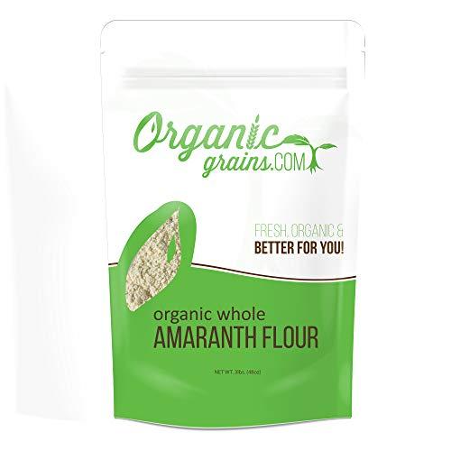 Organic Amaranth Flour Non-GMO 3lbs.