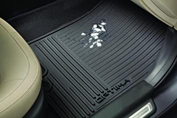 kia optima all weather rubber floor mats set