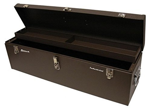 Homak 32-Inch Industrial Steel Toolbox, Brown Wrinkle Powder Coat, BW00200320 (Best Job Site Box)
