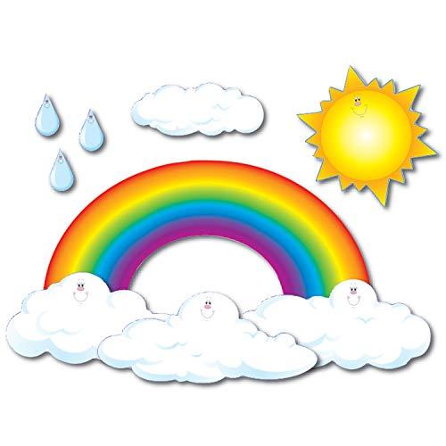 Carson Dellosa Big Rainbow Bulletin Board Set (3200) -