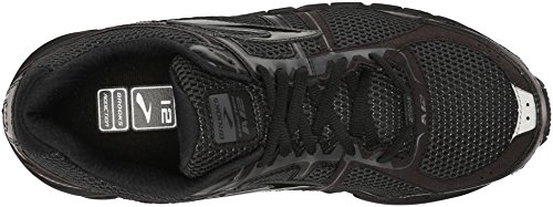 Brooks Addiction 12, Men's Competition Running Shoes Multi (Black/Anthracite)