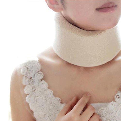 WAOBE Dispositivo de tracción cervical cervical - Masajeador y abrazadera para el cuello - Alivio del dolor en el cuello y...