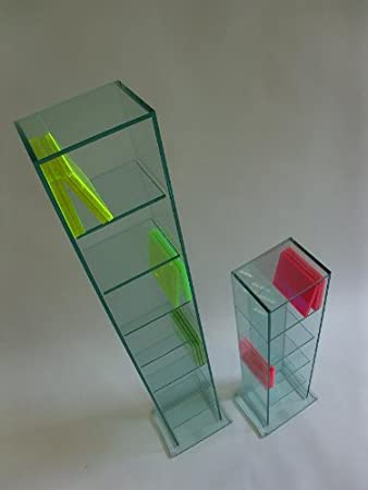regal glas top ricoo wandregal tv rack dvd design. Black Bedroom Furniture Sets. Home Design Ideas