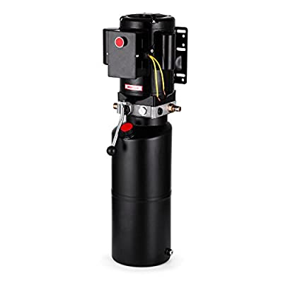 BestEquip Car Lift Power Unit 2.64 Gallons 3 HP Hydraulic Pump Power Unit Auto Car Lift 2950 PSI Car Lift Hydraulic Pumps 220V 2.2 KW Adjustable Pump Pressure