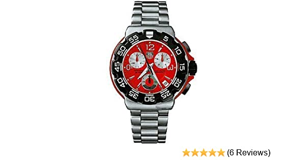 Amazon.com: TAG Heuer Mens CAC1112.BA0850 Formula 1 Chronograph Watch: Tag Heuer: Watches
