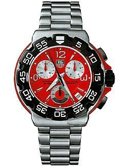 TAG Heuer Mens CAC1112.BA0850 Formula 1 Chronograph Watch