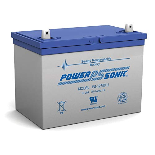 UB12750 Group 24 - AGM Battery - Sealed Lead Acid 12 Volt 75Ah I4 Terminal