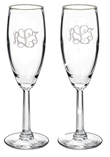 Wedding Gift Champagne Glasses : gifts infinity 2 engraved wedding flutes personalized toasting glasses ...