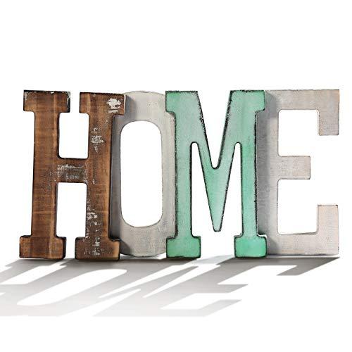 Mini California Frame (Cade Rustic Home Decor Wood Mini Home Decorative Sign, Standing Cutout Word Decor, Multicolor, (4, 4 x 7.9 inchs))