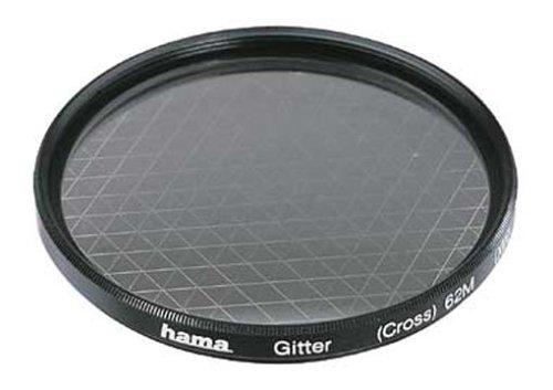 Hama Effekt-Filter, Sternfilter, 6-strahlig, 2-fach Vergütung, Für 55 mm Foto-Kameraobjektive, Gitter