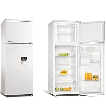 Compra Jocel Frigorífico INOX Nevera Dispensador de Agua 160 L y Congelador 44 L JF-250LSD en Amazon.es