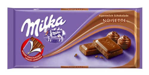 Milka Noisette Chocolate Block (100g)