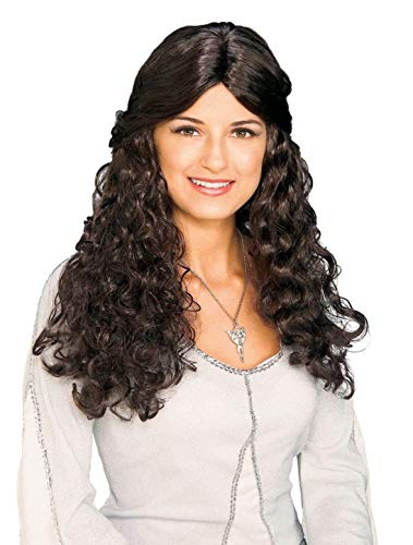 Rubie's Lord of The Rings Wig, Arwen Brown, One Size