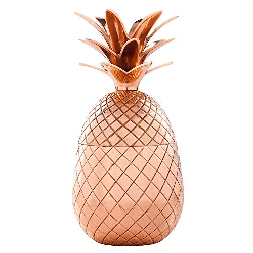 Elyx Copper Pineapple Cup Tumbler in Gift Box,