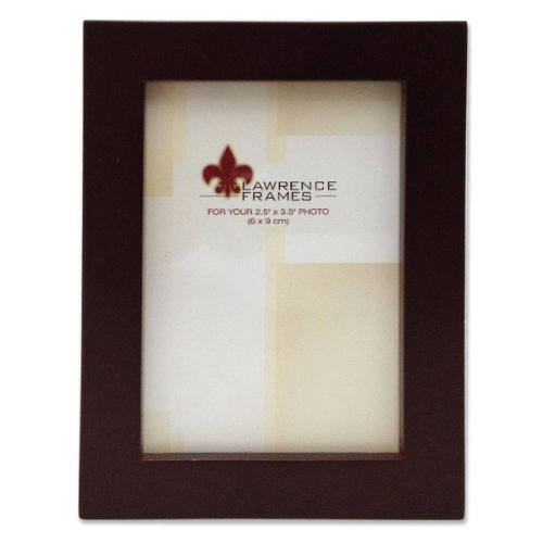 UPC 751148064712, Lawrence Frames 755923 Espresso Wood Picture Frame, 2.5 by 3.5-Inch
