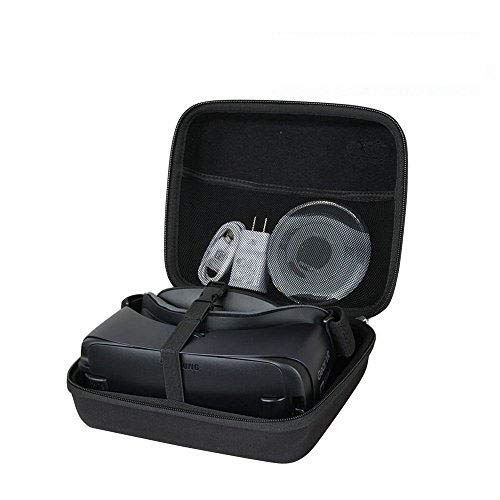 Anleo Hard Travel Case for Samsung Gear VR Virtual Reality Headset with Controller