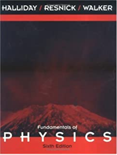 Amazon fundamentals of physics extended fifth edition version fundamentals of physics 6th edition fandeluxe Image collections