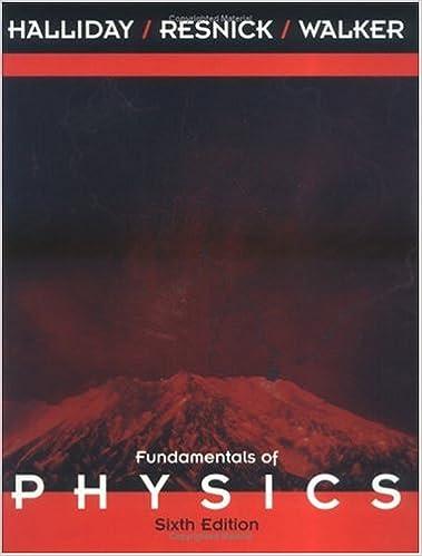 Fundamentals Of Physics 6th Edition