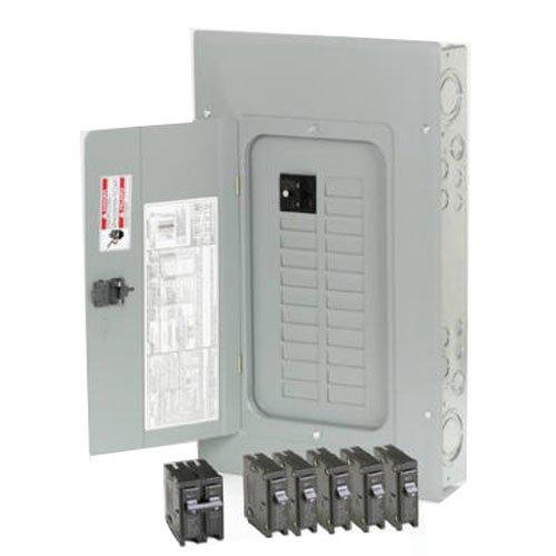 Eaton Corporation Br2020B100V Main Breaker Installed Load Center, 100-Amp