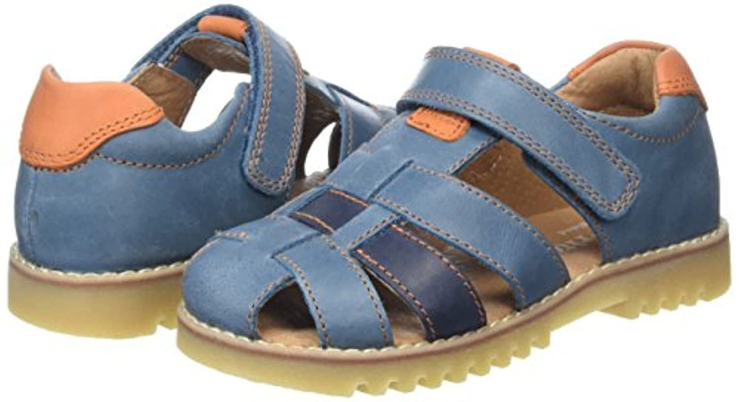 Start-rite Climb, Boys' Closed Toe Sandals, Blue (Blue), 4 Child UK (20 EU)