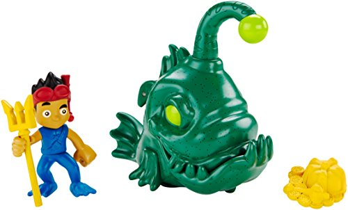 Fisher-Price Disney Jake & the Never Land Pirates, Creature Adventure Captain Jake ()
