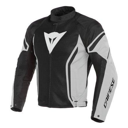 (Dainese Air Crono 2 Textile Jacket (48) (BLACK/GLACIER GREY/BLACK))