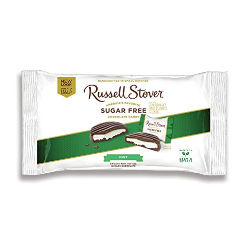 Price comparison product image Russell Stover Sugar-Free Mint Patties Laydown Bag, 10 Ounce