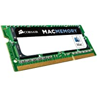 Corsair CMSA8GX3M1A1600C11 Apple Certified 8 GB DDR3 1600MHz (PC3 12800) Laptop Memory 1.35V