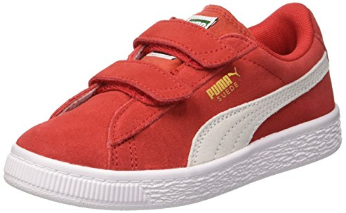 Zapatillas Suede Rojo White Unisex Niños puma Red high 2 Risk Puma Straps Ps w6FUqd6I