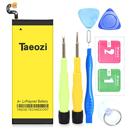 Galaxy S7 Battery, Taeozi 3300mAh EB-BG930ABE Li-Polymer Replacement Battery for Samsung Galaxy S7 SM-G930 G930V G930P G930T G930A with Free Repair Kit Tools [ 24 Month Warranty ] ()