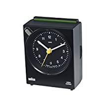 Braun Voice Control Analog Alarm Clock f...