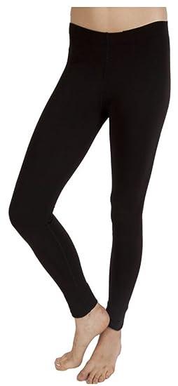 2b041e93c61f34 Plush Matte Spandex Fleece-lined Leggings at Amazon Women's Clothing store: Leggings  Pants